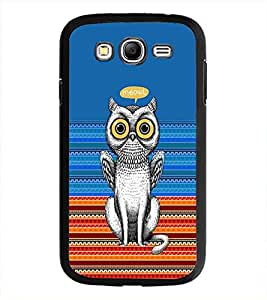 PrintDhaba Meowl D-3518 Back Case Cover for SAMSUNG GALAXY GRAND NEO (Multi-Coloured)