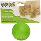 ♕ OurPet's Zig-N-Zag Ball Cat Toy ♕
