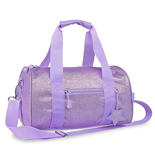 bixbee-purple-sparkalicious-5-pocket-girls-medium-handbag-duffle-bag
