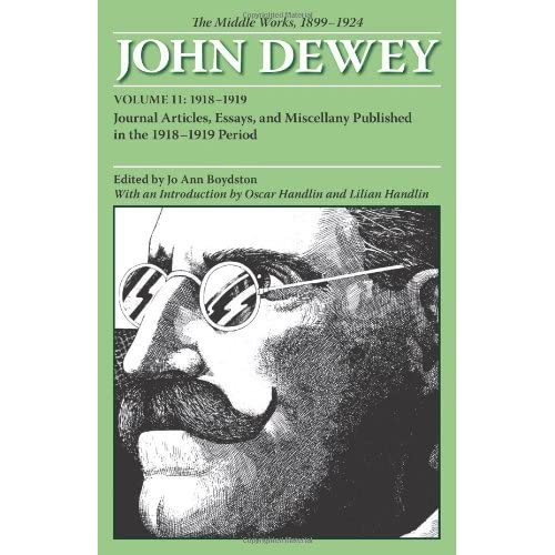 john dewey essays online The project gutenberg ebook of democracy and education, by john dewey  or  online at wwwgutenbergorg title: democracy and education author: john.