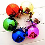 Christmas Decoration Balls Decorative Ornaments Matte Assorted Colors Christmas Decorations For Home, 12pcs/bag...