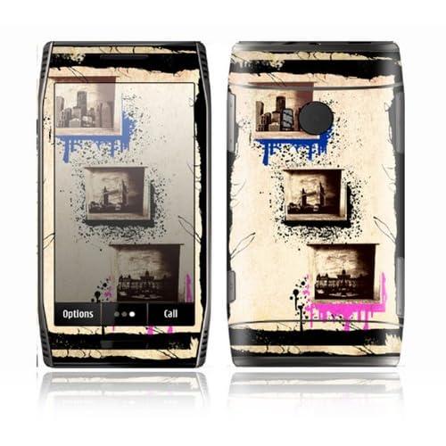 World Traveler Design Decorative Skin Cover Decal Sticker