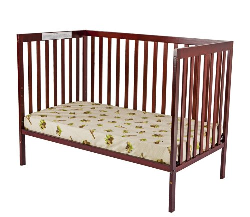 Dream On Me Synergy5 In 1 Convertible Crib, Cherry front-846562