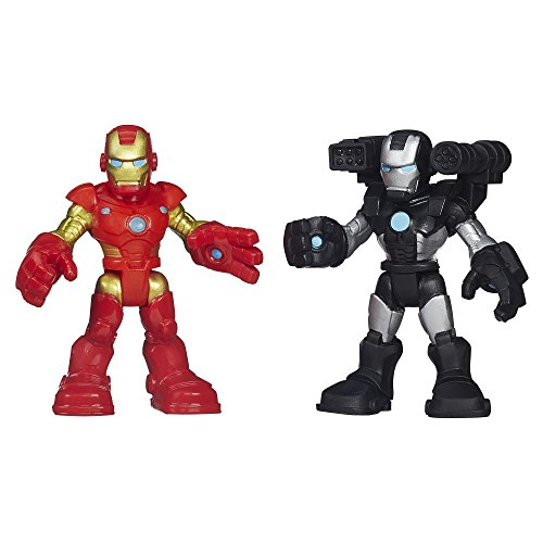 Playskool Heroes Marvel Super Hero Adventures Thor and War Machine - 1
