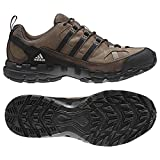adidas Outdoor AX1 Leather Hiking Shoe - Mens Grey Blend/Black/Espresso 9.5
