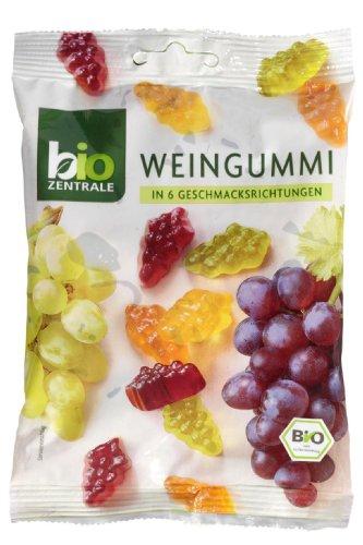 bioZentrale Weingummi in 6 Geschmacksrichtungen – 1 x 150 g