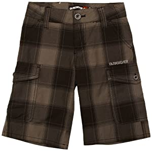 Quiksilver Be Still Cargo Short garçon Dark Grey T 10