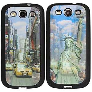 DMG Premium 3D TPU Protective Back Cover Case for Samsung Galaxy S3 (Liberty)