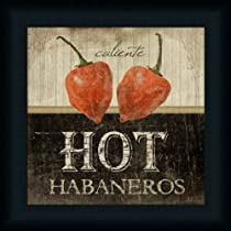 Hot Habaneros Art Print Framed