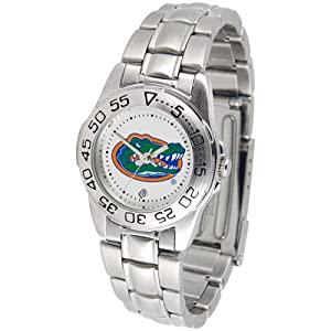 Florida Gators NCAA Sport Ladies Watch (Metal Band) by SunTime