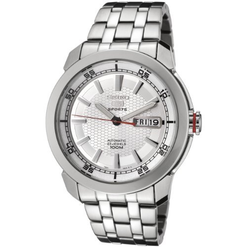 Seiko Men's SNZH61 Seiko 5 Automatic Silver Dial Stainless Steel Watch