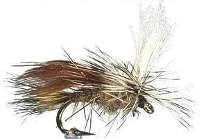 1 x Mouche sèche - SEDGE ROUX PARACHUTE - pêche à la truite - H22