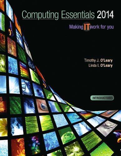Computing Essentials 2014