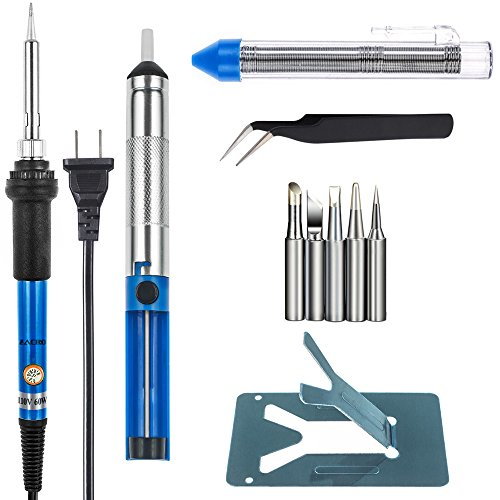 zacro-welding-soldering-iron-60w-110v-adjustable-temperature-with-pack-of-5-different-tips-desolderi