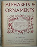 img - for Alphabets & ornaments book / textbook / text book