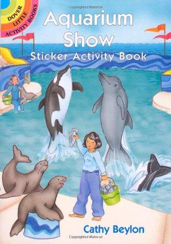 Aquarium Show Sticker Activity Book