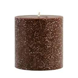 Root Pillar Candles in various sizes and colors (DISCONTINUED) (Brown (Chocolateness), 3 x 3)