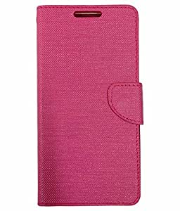 DESIGNERZ HUB FLIP COVER FOR LENOVO Z2 PLUS PINK