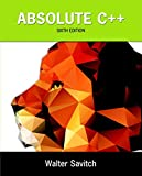 img - for Absolute C++ (6th Edition) book / textbook / text book