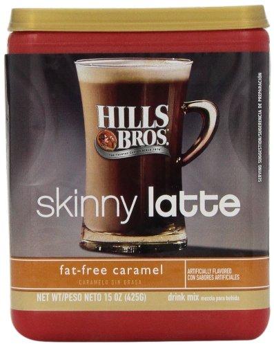 Hills Bros. Cappuccino Skinny Lattes Fat Free Caramel 15 oz