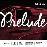 D\'Addario Bowed Corde seule (Ré) pour violoncelle D\'Addario Prelude, manche 4/4, tension Medium