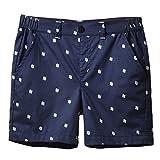 JXStar Little Boys Trendy Chino Smart Seaside Navy Khaki Shorts Age 2-9 Years