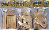 Creative Hobbies® Wooden Model Kit Bird House - Wholesale Lot of 3 Kits