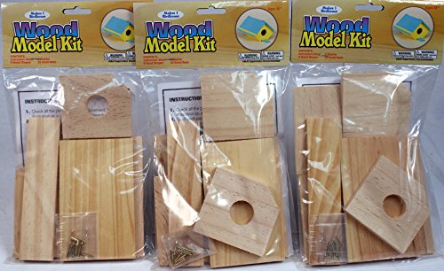 Creative Hobbies® Wooden Model Kit Bird House