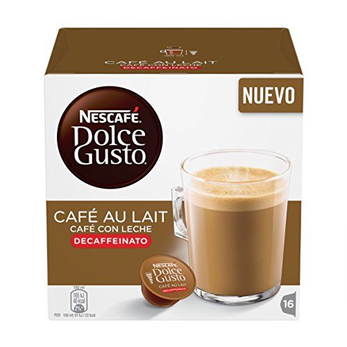Get Dolce Gusto Cafe Au Lait Decaffeinatao Decaffeinated Coffee Pods 1 Box - Dolce Gusto