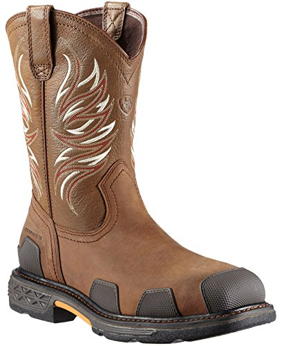 Ariat Men's Overdrive Pull-On Work Boot Composition Toe