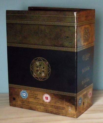 The Lord Of The Rings Trilogy (Extended Edition) BLU-RAY ...
