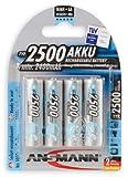 Ansmann 4 x AA Maxe Batteries (2500mAh)