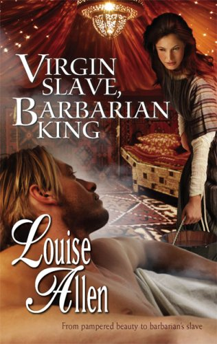 Image for Virgin Slave, Barbarian King (Harlequin Historical Series)