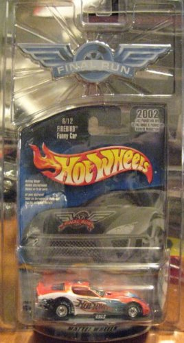 Hot Wheels 2002 Final Run Firebird Funny Car 6/12 1:64