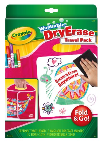 Crayola Dry-Erase Fold and Go Travel Pack