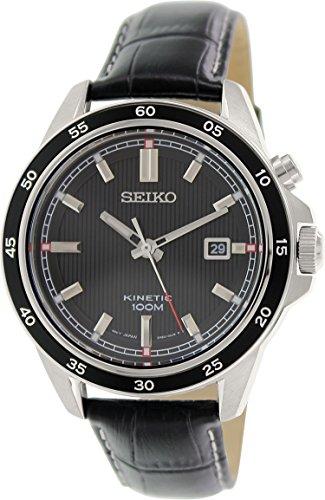 Seiko Classic Ska647P1 Mens Wristwatch With Kinetic Movement