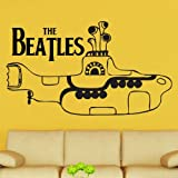 The Beatles Yellow Submarine Decal Vinyl Wall Sticker (CEL101)