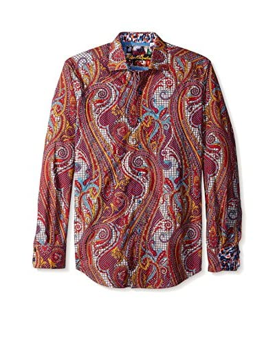 Robert Graham Men's Chestnuts Long Sleeve Shirt