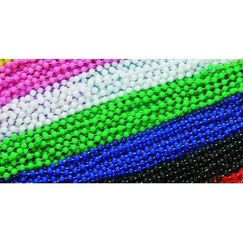 Mardi Gras - Beads - Festive NonMetallic Green 6/Hc Accessory