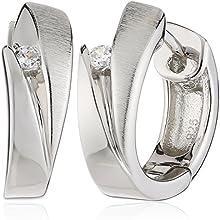 Comprar Fossil JF14723040 - Pendientes de mujer de plata con 2 circonitas
