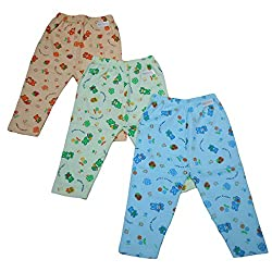 NammaBaby Leggings pajamas for kids - Set of 3 (3-6 Months) M Size