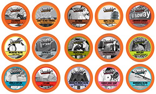 Brooklyn Beans Assorted Variety Pack Single-Cup Coffee for Keurig K-Cup Brewers, 40 Count (Keurig Coffee K Cups Variety compare prices)