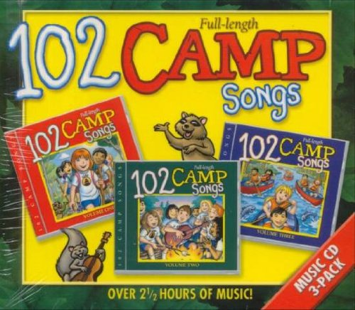 102 Camp Kids Songs CD Boxed Set
