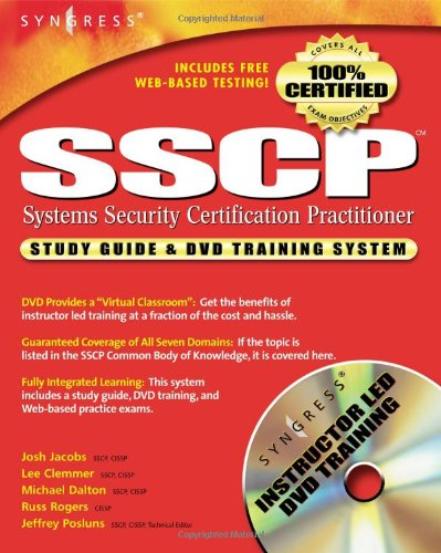 SSCP study guide & DVD training system