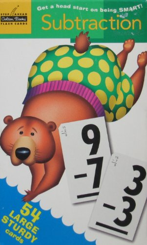 Step Ahead Flash Cards: Subtraction - 1