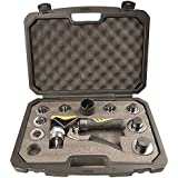 IWISS HVAC Hydraulic SWAGING tool kit for copper tubing Expanding from 3/8 Inch To 1-5/8 Inch With Plastic Case