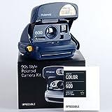 Polaroid 600 Camera 90s style refurbished Set, Colori assortiti