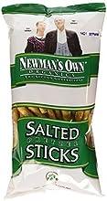Newman39s Own Organics Pretzels Salted Sticks 8-Ounce Bags Pack of 12  Value Bulk Multi-pack
