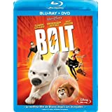 Bolt - 2 Disc Blu-ray (Includes Bonus DVD - French Only Packaging)by John Travolta