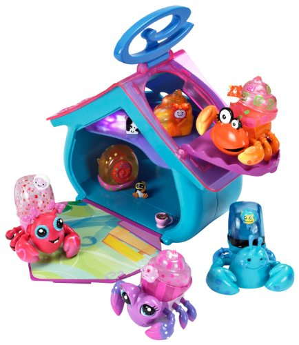 XiaXia Pets Hermit Crab Playset Confetti Cottage